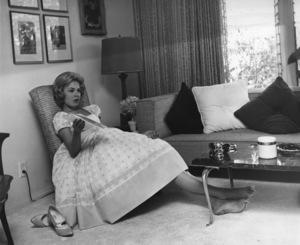 Sandra Dee at homecirca 1956Photo by Joe Shere - Image 7678_0112