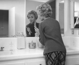 Sandra Dee at homecirca 1956Photo by Joe Shere - Image 7678_0113