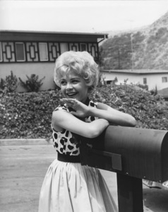Sandra Dee in front of her housecirca 1956Photo by Joe Shere - Image 7678_0114