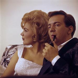 Sandra Dee and Bobby Darincirca 1960s© 1978 Gunther - Image 7678_0119