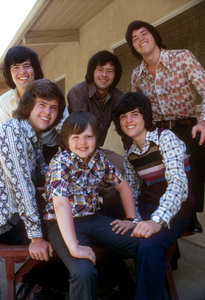 """The Osmonds""(L to R)  Jimmy,Merrill, Jay,Wayne, Alan, & Donny1973 © 1978 Gene Trindl - Image 7682_0063"