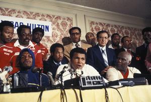 Muhammad Ali vs. Leon Spinks / Las Vegas Hilton / Las Vegas, Nevada1978 © 1978 Gunther - Image 7683_0126