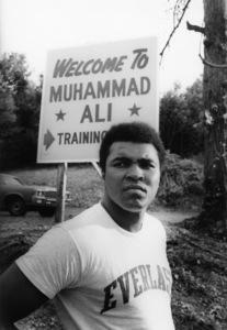 Muhammad Ali at his Deer Lake camp 1974 © 1978 Gunther - Image 7683_0151