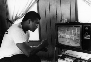 Muhammad Ali at his Deer Lake camp 1974 © 1978 Gunther - Image 7683_0154