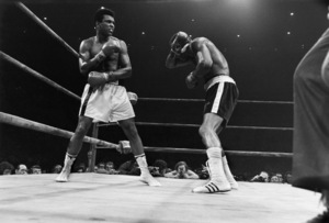 Muhammad Ali vs. Ken Norton at Yankee Stadium in New York City09-28-1976© 1978 Gunther - Image 7683_0157