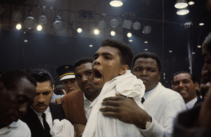 Muhammad Ali in February of 1964 © 1978 Gunther - Image 7683_0176