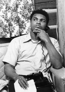Muhammad Ali at his Deer Lake camp 1974 © 1978 Gunther - Image 7683_0325