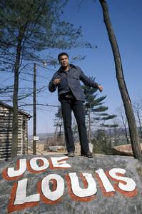 Muhammad Ali at his training camp in Deer Lake, PA1974 © 1978 Gunther - Image 7683_0404