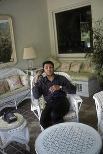 Muhammad Ali at his Los Angeles, California home1984 © 1984 Gunther - Image 7683_0428