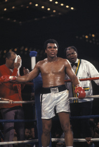 Muhammad Ali vs. Leon Spinks / Las Vegas Hilton / Las Vegas, Nevada1978 © 1978 Gunther - Image 7683_0433