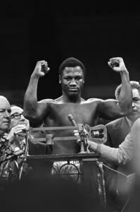 Joe Frazier weighing in before his fight against Muhammad Ali1971© 1978 Gunther - Image 7683_0442