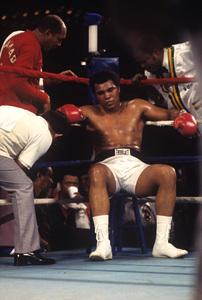 Muhammad Ali vs. Leon Spinks at the Las Vegas Hilton Las Vegas, Nevada 1978 © 1978 Gunther - Image 7683_0443