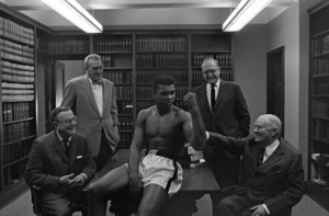 Cassius Clay 1963 © 1978 Gunther - Image 7683_0449