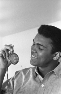 Cassius Clay at his Louisville, Kentucky home 1963 © 1978 Gunther - Image 7683_0453