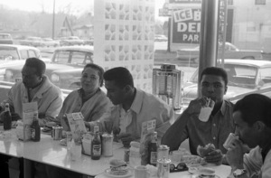 Cassius Clay with his father, Cassius Sr., mother, Odessa, and brother Rudy1963© 1978 Gunther - Image 7683_0454