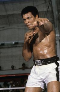 Muhammad Ali circa 1978 © 1978 Gunther