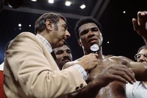 Muhammad Ali and Howard Cosell circa 1978 © 1978 Gunther