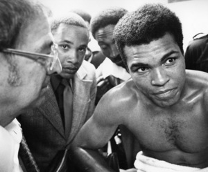 Muhammad Ali circa 1973 © 1978 Gunther