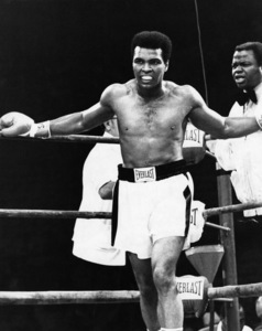 Muhammad Ali and Drew Bundini Brown circa 1973 © 1978 Gunther