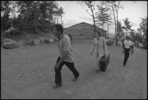 "Muhammad Ali, Gene Kilroy, Wali ""Younglbood"" Muhammad1974© 1978 Peter Angelo Simon - Image 7683_0511"