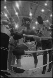 """Angelo Dundee, Wali """"Youngblood"""" Muhammad, Muhammad Ali, Drew """"Bundini"""" Brown1974© 1978 Peter Angelo Simon - Image 7683_0512"""