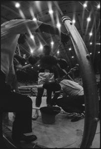 """Angelo Dundee, Wali """"Youngblood"""" Muhammad, Drew """"Bundini"""" Brown, Muhammad Ali1974© 1978 Peter Angelo Simon - Image 7683_0514"""