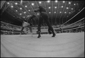 "Muhammad Ali sparring with Eddie ""Bossman"" Jones1974© 1978 Peter Angelo Simon - Image 7683_0517"