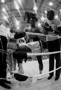 """Angelo Dundee, Wali """"Youngblood"""" Muhammad, Muhammad Ali, Drew """"Bundini"""" Brown1974© 1978 Peter Angelo Simon - Image 7683_0525"""