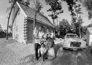 Muhammad Ali with his family: Rashidah Ali (in Ali