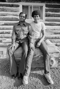 "Drew ""Bundini"" Brown and his son Drew Brown III1974© 1978 Peter Angelo Simon - Image 7683_0540"