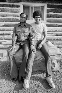 "Drew ""Bundini"" Brown and his son Drew Brown III1974© 1978 Peter Angelo Simon - Image 7683_0540"
