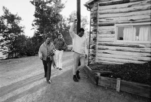 Angelo Dundee, Gene Kilroy, Muhammad Ali1974© 1978 Peter Angelo Simon - Image 7683_0550