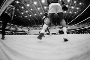 "Muhammad Ali sparring with Eddie ""Bossman"" Jones1974© 1978 Peter Angelo Simon - Image 7683_0552"