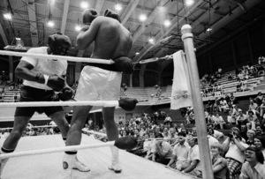 "Muhammad Ali sparring with Eddie ""Bossman"" Jones1974© 1978 Peter Angelo Simon - Image 7683_0553"