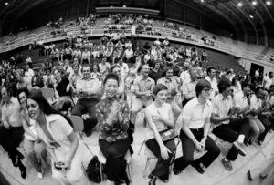 "Audience at a Muhammad Ali vs. Eddie ""Bossman"" Jones fight1974© 1978 Peter Angelo Simon - Image 7683_0555"