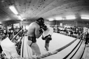 "Muhammad Ali sparring with Eddie ""Bossman"" Jones1974© 1978 Peter Angelo Simon - Image 7683_0557"