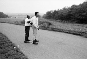 "Muhammad Ali and his ""bodyman"" masseur Luis Serria1974© 1978 Peter Angelo Simon - Image 7683_0583"