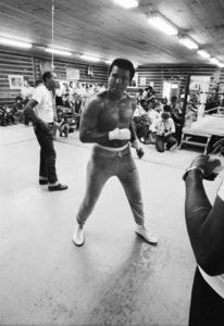 """Wali """"Youngblood"""" Muhammad, Muhammad Ali1974© 1978 Peter Angelo Simon - Image 7683_0595"""