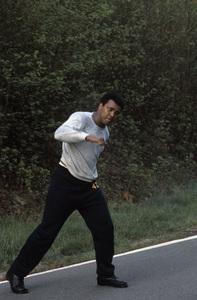 Muhammad Ali at his training camp in Deer Lake, Pennsylvaniacirca 1980© 1980 Gunther - Image 7683_0626