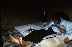 Muhammad Ali at his training camp in Deer Lake, Pennsylvaniacirca 1980© 1980 Gunther - Image 7683_0628