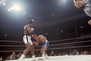 Muhammad Ali fighting Jerry Quarry in Atlanta, Georgia1970© 1978 Gunther - Image 7683_0635