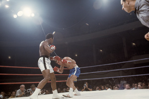 Muhammad Ali fighting Jerry Quarry in Atlanta, Georgia1970© 1978 Gunther - Image 7683_0635