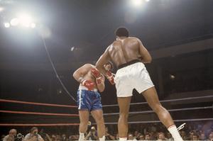 Muhammad Ali fighting Jerry Quarry in Atlanta, Georgia1970© 1978 Gunther - Image 7683_0637