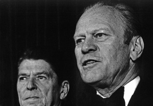 Gerald Ford and Ronald Reagan1979 - Image 7684_0002