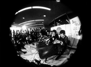 The Beatles, during a Press Conference,in Los Angeles, CA.1966 © 1978 Bud Gray / MPTV - Image 7685_0029