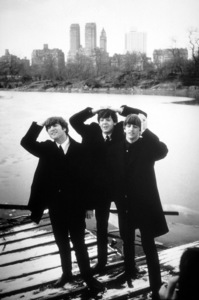 The Beatles (John Lennon, Paul McCartney, Ringo Starr) 1964 © 1978 Gunther - Image 7685_0061_09