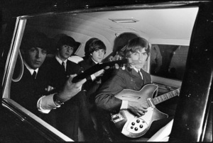 Paul McCartney, John Lennon, George Harrison and Ringo Starr of the Beatles1964© 1978 Gunther - Image 7685_0113