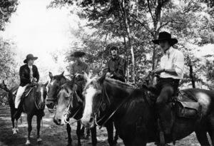 The Beatles (John Lennon, Paul McCartney, Ringo Starr, George Harrison) in Ozark, Arkansas1964© 1978 Gunther - Image 7685_0122