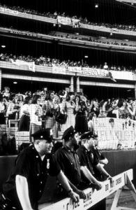 Beatles Fans enjoying concert atShea Stadium, August 15, 1965 © 1978 George E. Joseph / MPTV  - Image 7685_0174