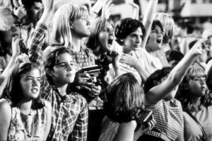 Beatles Fans enjoying concert atShea Stadium, August 15, 1965 © 1978 George E. Joseph / MPTV - Image 7685_0178